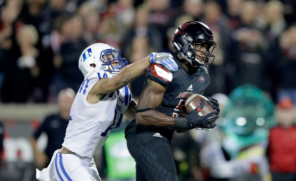 Louisville 24, Duke 14 Game Notes