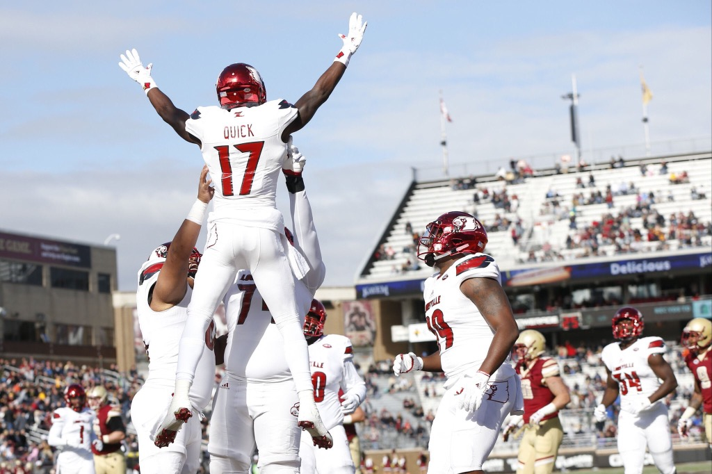 Louisville 52, Boston College 7 Game Notes